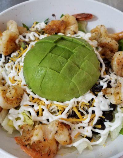 Cantina Bowl with Shrimp